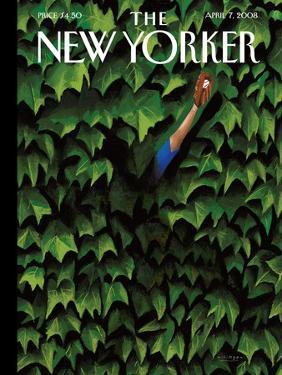 The New Yorker Cover - April 7, 2008 by Mark Ulriksen