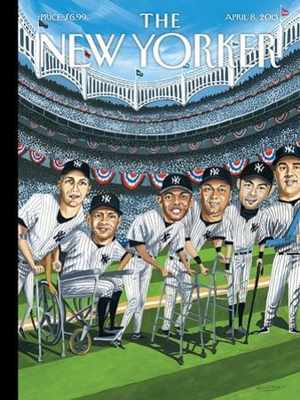The New Yorker Cover - April 8, 2013