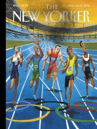 The New Yorker Cover - August 8, 2016