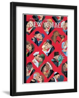 The New Yorker Cover - February 14, 2000 by Mark Ulriksen