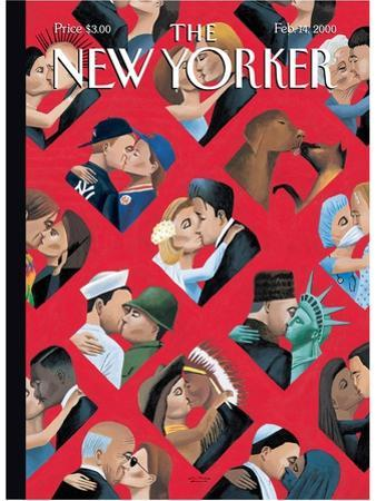 The New Yorker Cover - February 14, 2000