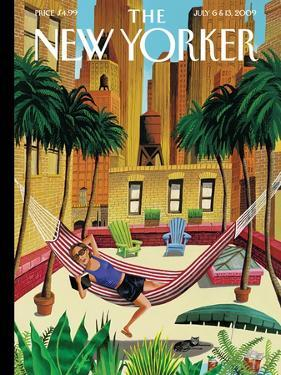 The New Yorker Cover - July 6, 2009 by Mark Ulriksen