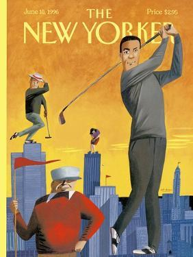 The New Yorker Cover - June 10, 1996 by Mark Ulriksen