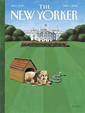 The New Yorker Cover - May 1, 2006 by Mark Ulriksen