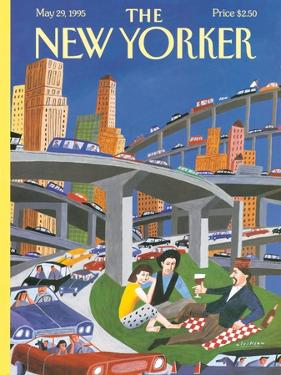 The New Yorker Cover - May 29, 1995 by Mark Ulriksen