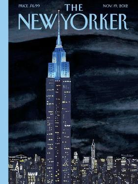 The New Yorker Cover - November 19, 2012 by Mark Ulriksen