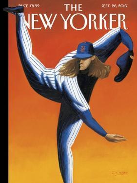 The New Yorker Cover - September 26, 2016 by Mark Ulriksen