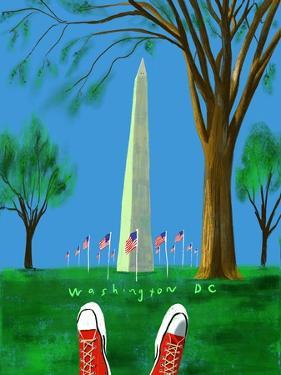 Washington Monument by Mark Ulriksen