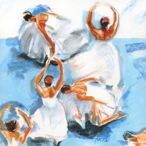 Beautiful Dancers 15 by Mark Van Crombrugge