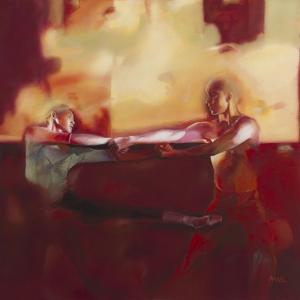 Dancers 21 by Mark Van Crombrugge