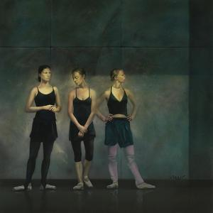 Dancers 26 by Mark Van Crombrugge