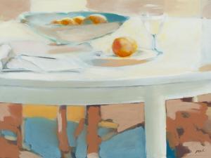 Still Life Fruit by Mark Van Crombrugge