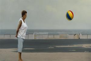 The Ballgame by Mark Van Crombrugge