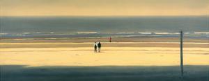 The Yellow Beach by Mark Van Crombrugge