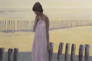 Woman by Mark Van Crombrugge