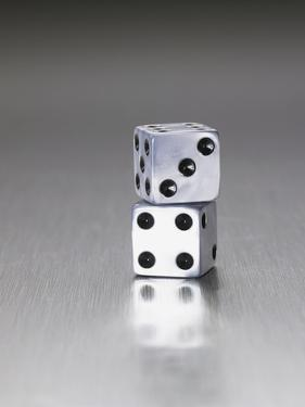 Pair of dice by Mark Weiss