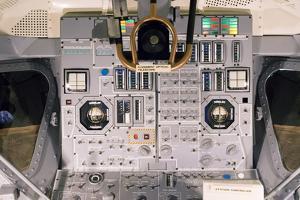 Apollo Lunar Module Interior by Mark Williamson