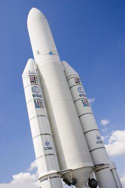Ariane 5 Rocket by Mark Williamson
