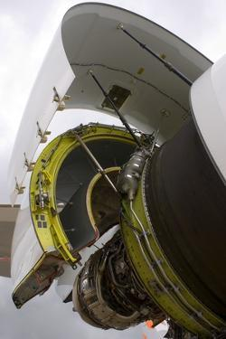 Boeing 747-8 Engine Cowling by Mark Williamson