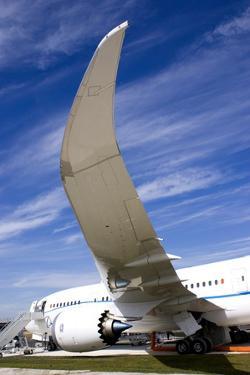 Boeing 787 Dreamliner At Farnborough by Mark Williamson