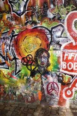 Lennon Wall, Prague by Mark Williamson