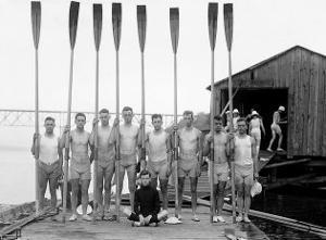 Penn State Row Team, 1914 by Marker David