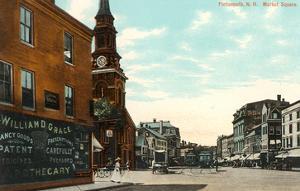 Market Square, Portsmouth, New Hampshire