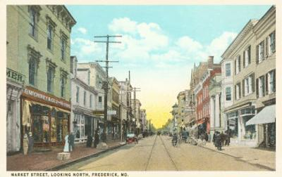 Market Street, Frederick, Maryland