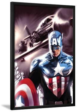 Captain America No.609 Cover: Captain America by Marko Djurdjevic