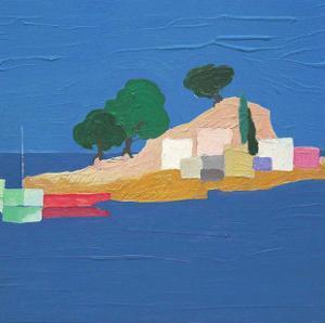Aegean Seaside IV by Marko Viridis