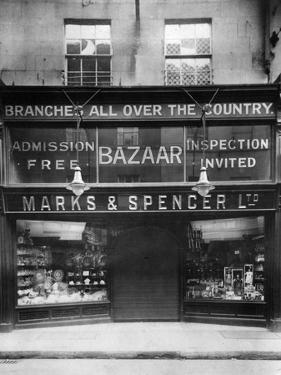 Marks and Spencer Front
