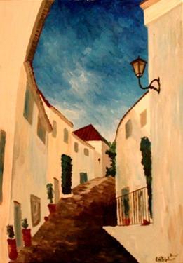 Alpujarra - The white village in Andalucia by Markus Bleichner