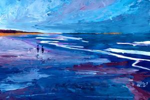 Blue Californian Seascape In Big Sur by Markus Bleichner