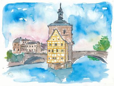 Bridge In Bamberg Bavaria by Markus Bleichner