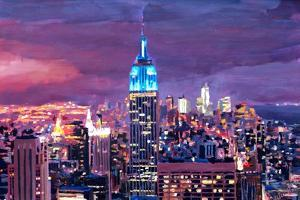 Empire State Building Feeling Like A Blue Giant by Markus Bleichner