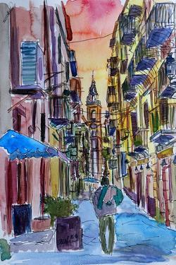 Fascinating Palermo Sicily Italy Street Scene by Markus Bleichner