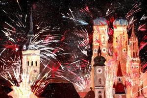 Fireworks in Munich by Markus Bleichner