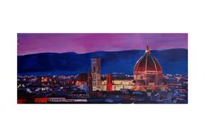 Florence Skyline with Santa Maria del Fiore by Markus Bleichner