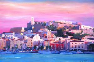 Ibiza Eivissa Old Town And Harbour Pearl Of The Mediterranean by Markus Bleichner