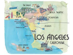 Los Angeles California by Markus Bleichner