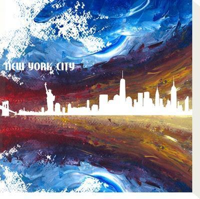 New York City Skyline by Markus Bleichner