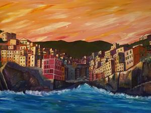 Riomaggiore Cinque Terre by Markus Bleichner