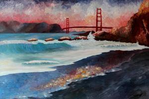 San Francisco Golden Gate at Dawn by Markus Bleichner