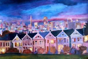San Francisco - Painted Ladies - Alamo Sq by Markus Bleichner