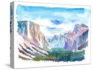 USA National Park Yosemite El Capitan by Markus Bleichner
