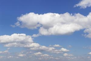 Cumulus Clouds, Blue Sky, Summer, Germany, Europe by Markus