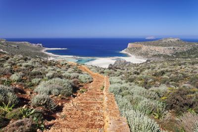 Balos Bay, Gramvousa Peninsula, Crete, Greek Islands, Greece, Europe by Markus Lange