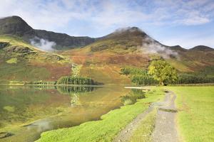 Buttermere Lake, Lake District National Park, Cumbria, England, United Kingdom, Europe by Markus Lange