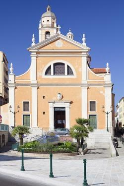 Cathedral, Ajaccio, Corsica, France, Mediterranean, Europe by Markus Lange