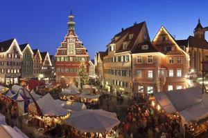 Christmas Fair at the Marketplace by Markus Lange